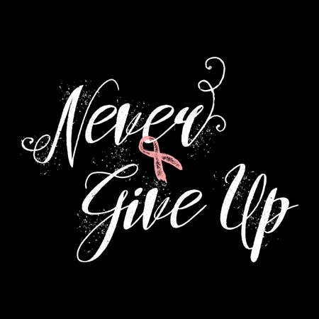 Breast Cancer Inspirational Quotes Endearing Never Give Up Inspirational Quote About Breast Cancer Awareness