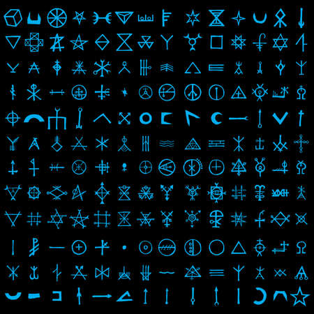 Non binary futuristic cyberspace code background. Digital alien matrix technology programming language alphabet. Cyber data decryption and encryption. Hacker concept. Quantum computers. Vector .