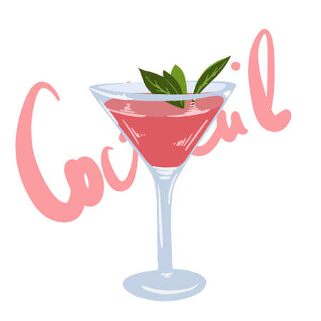 New Era Drinks Coctail menu, excellent vector illustration, EPS 10