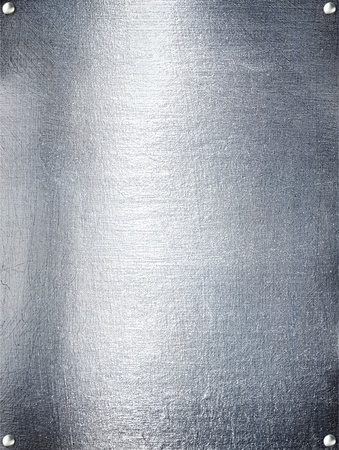 aluminium wallpaper: Metal plate steel background. Stock Photo