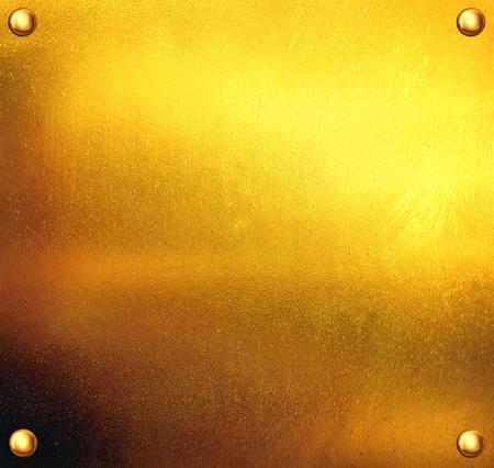 brass plate: Luxury golden texture