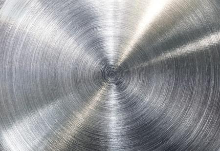 Contraste fuerte cepillado textura de acero inoxidable Foto de archivo - 12465475