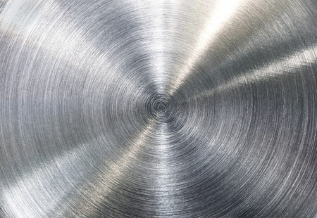 High contrast brushed stainless steel texture  Stock Photo - 12465475