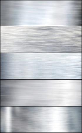 siderurgia: Cepillado de metal de plata. Conjunto