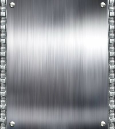 aluminium texture:  Metal plate steel background  Hi res