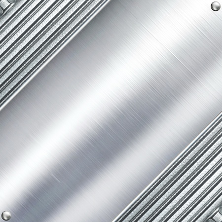 aluminium wallpaper: Metal plate steel background