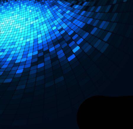 Vector geometric tech background. Vector creative background.