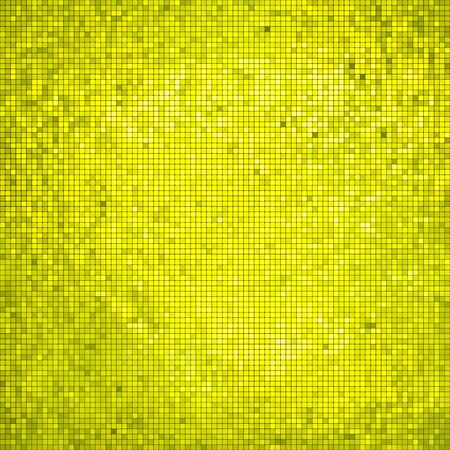 Golden business mosaic. Vector