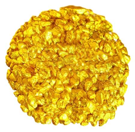 Luxury golden nuggets Hi res background