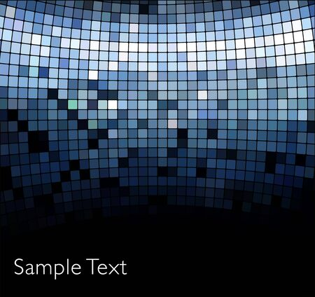 Vector geometric tech background. Illustration