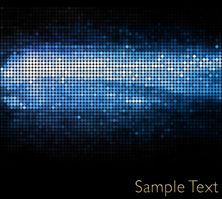 communication metaphor: Vector geometric tech background. Vector creative background. Eps10