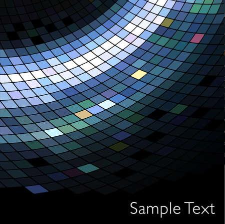 Vector geometric tech background.