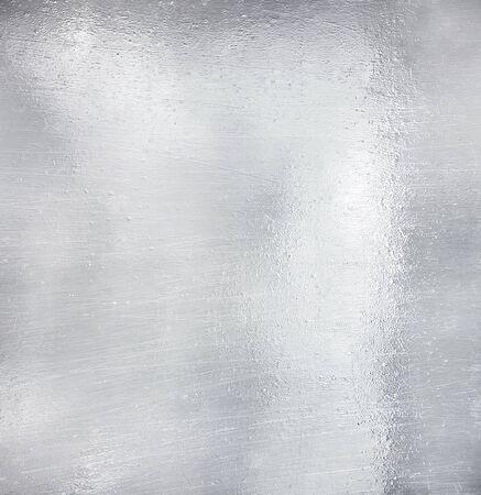 brushed aluminium: Metal plate steel background
