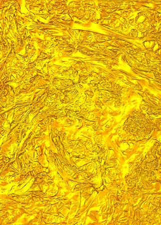 Creative liquid luxury golden texture. Hi res background. Stock Photo
