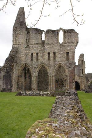 abbey ruins abbey: Abbey ruins Stock Photo