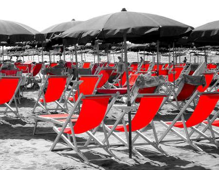 Red beach photo