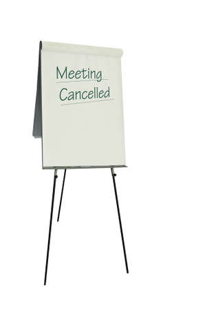 Meeting cancelled Stock Photo - 7102325