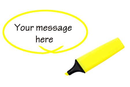 Resaltar su mensaje aquí