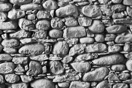 exposed: Ancient exposed stone wall