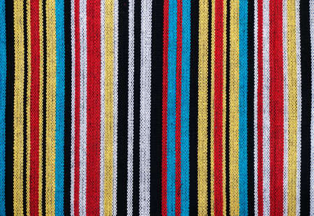 weft: Coarse fabric showing warp and weft