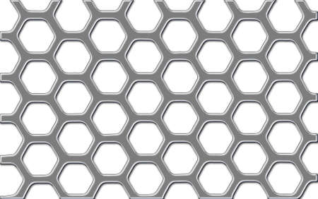 Shiny metal security grid Stock Photo - 7985680