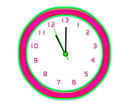 Thirteen hour clock Stock Photo - 8156886