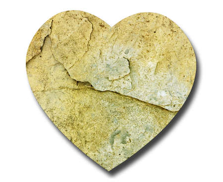 unemotional: Stone heart - unemotional concept