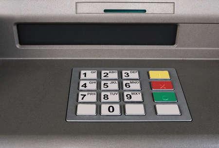 bancomat: Basic atm  bancomat detail Stock Photo