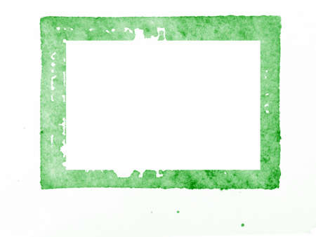 Genuine ink stamp background with blots Stock Photo - 10090871