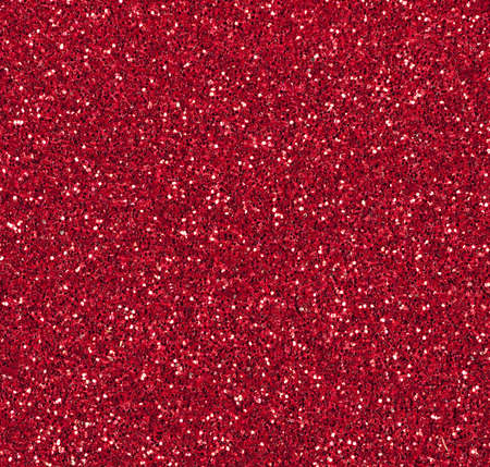 Red sparkly Christmas or festive background Imagens