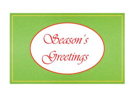 greeting season: Season