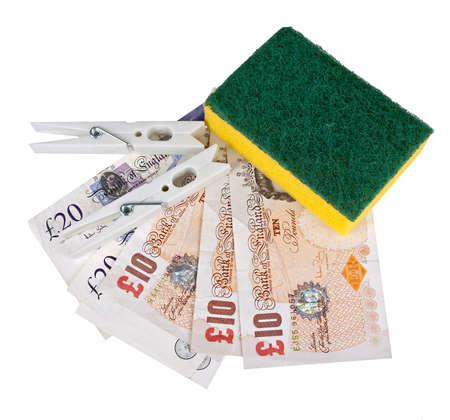 UK money laundering equipment photo