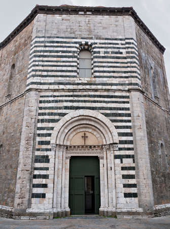 The Baptistry, Volterra, Italy photo
