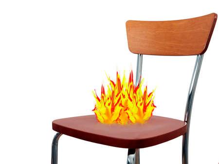 Hot seat - concept