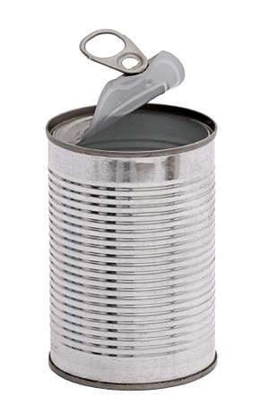 tin cans: Lege blikken kunnen, geïsoleerd