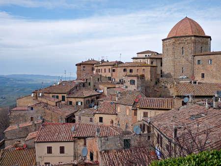 volterra: Volterra, Italy Stock Photo