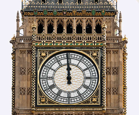 mediodía: High Noon - Big Ben, Londres, al mediod�a, la medianoche