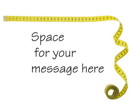 tailor measure: Tape misura ad angolo retto cornice