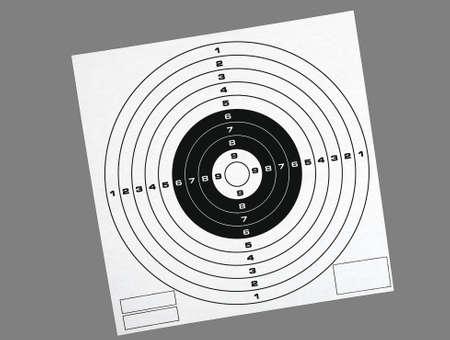 shooting target: Schieten doel, geïsoleerd Stockfoto