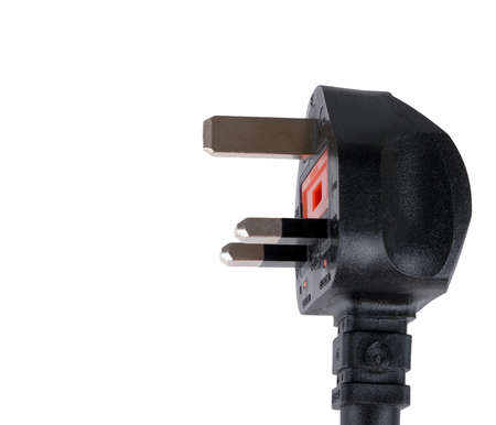 plug electric: UK three pin plug, isolated