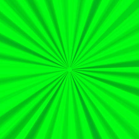 expanding: Green expanding rays background - textured effect Stock Photo