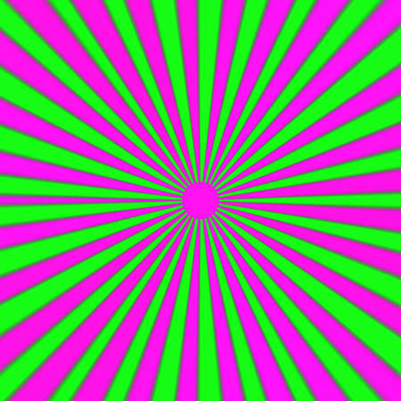 Psychedelic pink and green ray background - vivid Stock Photo - 16885852