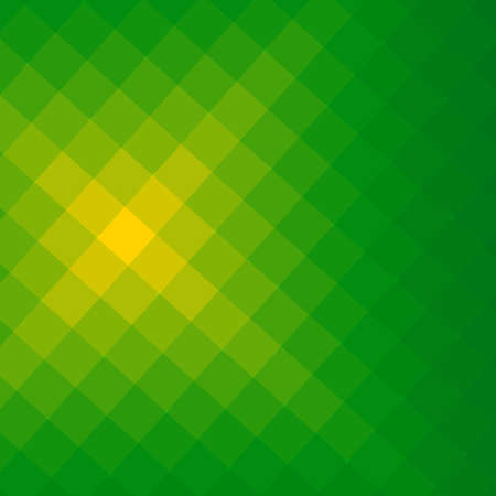 Green and yellow square light effect background