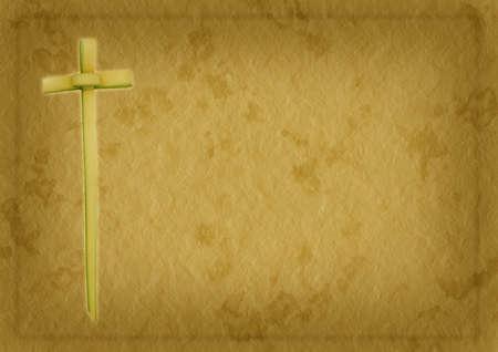christianity palm sunday: Palm Sunday or Easter religious Christian background Stock Photo
