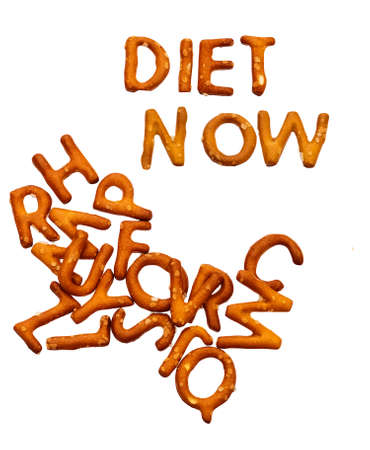 Unhealthy diet concept - lose weight photo