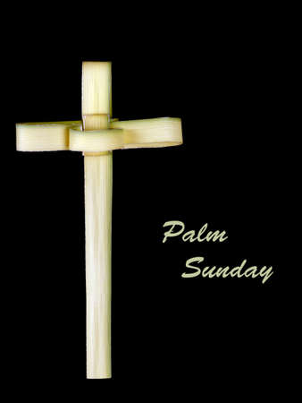palm sunday: Palm Sunday cross