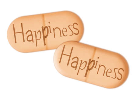 placebo: Happiness Stock Photo