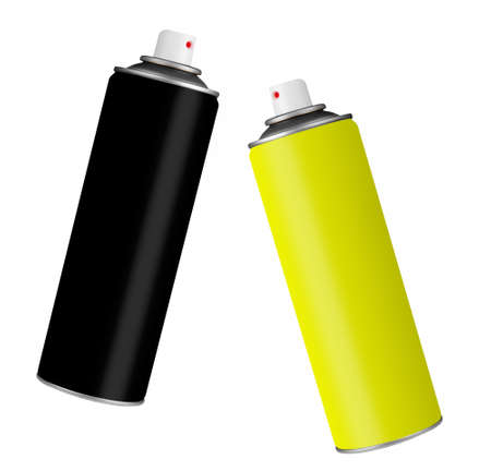 Spray paint cans  photo