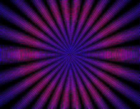 radiating: Bella raggi che si irradiano astratto