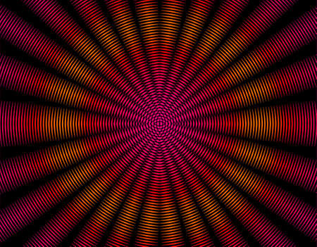 Radiating rays pattern photo